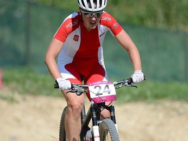 Aleksandra Dawidowicz na olimpijskiej trasie (fot. Getty Images)