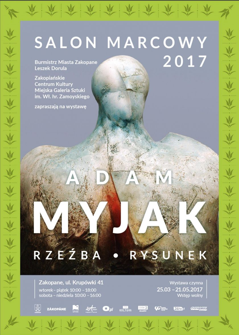 Salon Marcowy. Adam Myjak – rzeźba, rysunek.