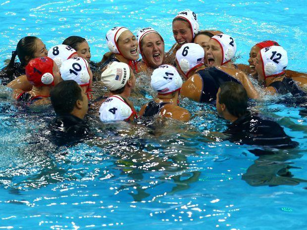 Amerykanki pewnie pokonały Hiszpanki w finale (fot. Getty Images)