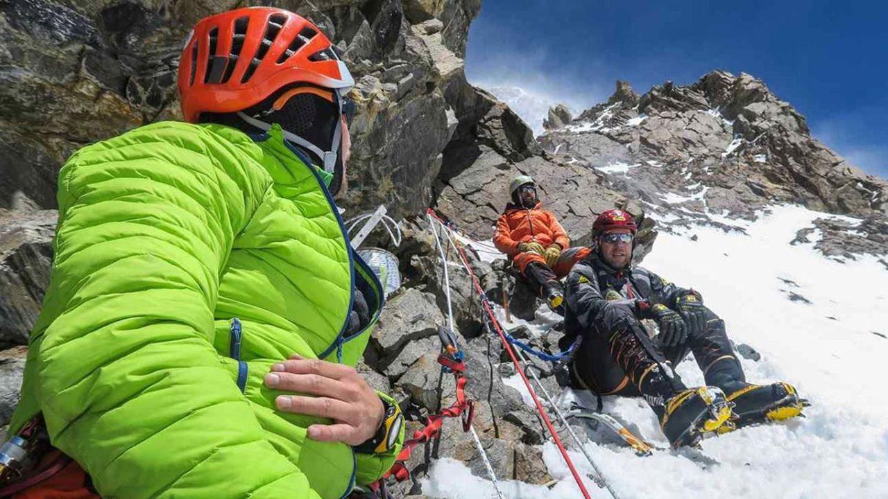 6200 m n.p.m. wyjście aklimatyzacyjne 200 m powyżej obozu I. (fot. Piotr Tomala)