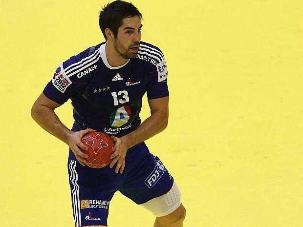 Nikola Karabatić będzie z kolegami bronił złotego medalu (fot. Getty Images)