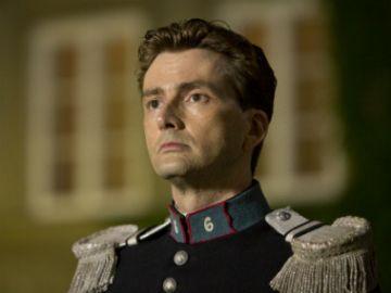 W postać wcielił się aktor David Tennant (fot. TVP)