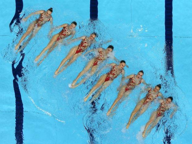 Rosjanki nie miały sobie równych podczas igrzysk w Londynie (fot. Getty Images)