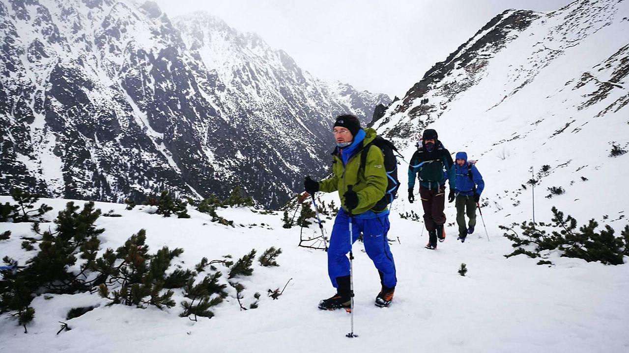 Pod czujnym okiem trenera Formy na Szczyt część składu spędziła kilka dni w Tatrach, gdzie testowali i sprawdzali swoje możliwości wydolnościowe. (fot. Materiały prasowe)