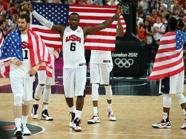 LeBron James był liderem reprezentacji USA w Londynie (fot. PAP/EPA)