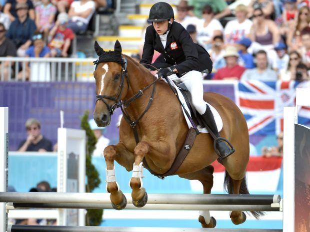 Gawlikowska najlepiej spisała się w jeździe konnej (fot. Getty Images)