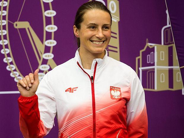 Niestety Sylwia Bogacka nie zdołała znaleźć się w trójce (fot. PAP/Adam Ciereszko)