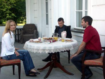 Od lewej: Magdalena Cielecka, Jan Frycz i Marcin Bosak