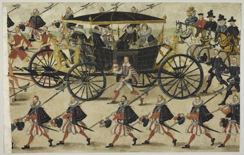 Kareta królewskiej narzeczonej Konstancji Austriaczki, fot. A. Ring