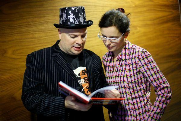 Skiba z Agatą Passent (fot.Agencja Forum)