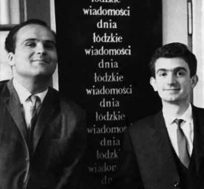 fot. TVP Łódź, po prawej Zbigniew Zaliński