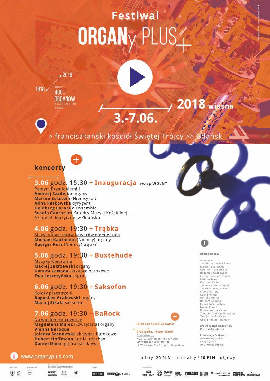 Festiwal ORGANy PLUS+  2018