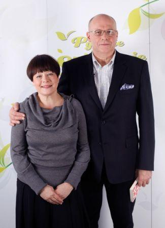 Ilona Łepkowska i Czesław Bielecki - miłość po 50 latach przyjaźni (fot.Agencja Forum)
