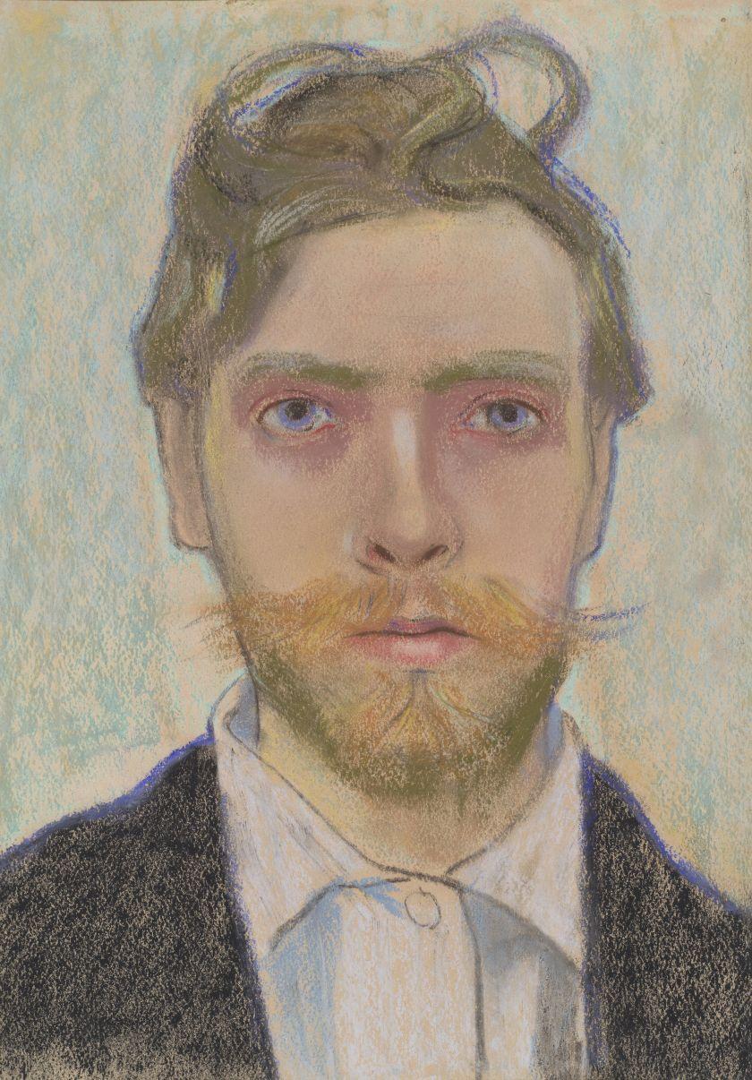 Stanisław Wyspiański Autoportret 1897 Fot.  M. Obarzanowski i M Zak.
