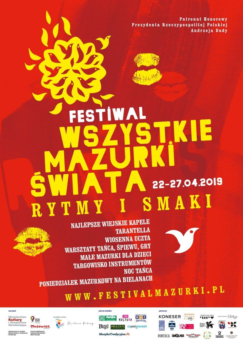 Festiwal Wszystkie Mazurki Świata 2019 - RYTMY i SMAKI