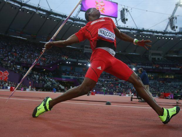 Keshorn Walcott został historycznym mistrzem olimpijskim w rzucie oszczepem (fot. Getty Images)