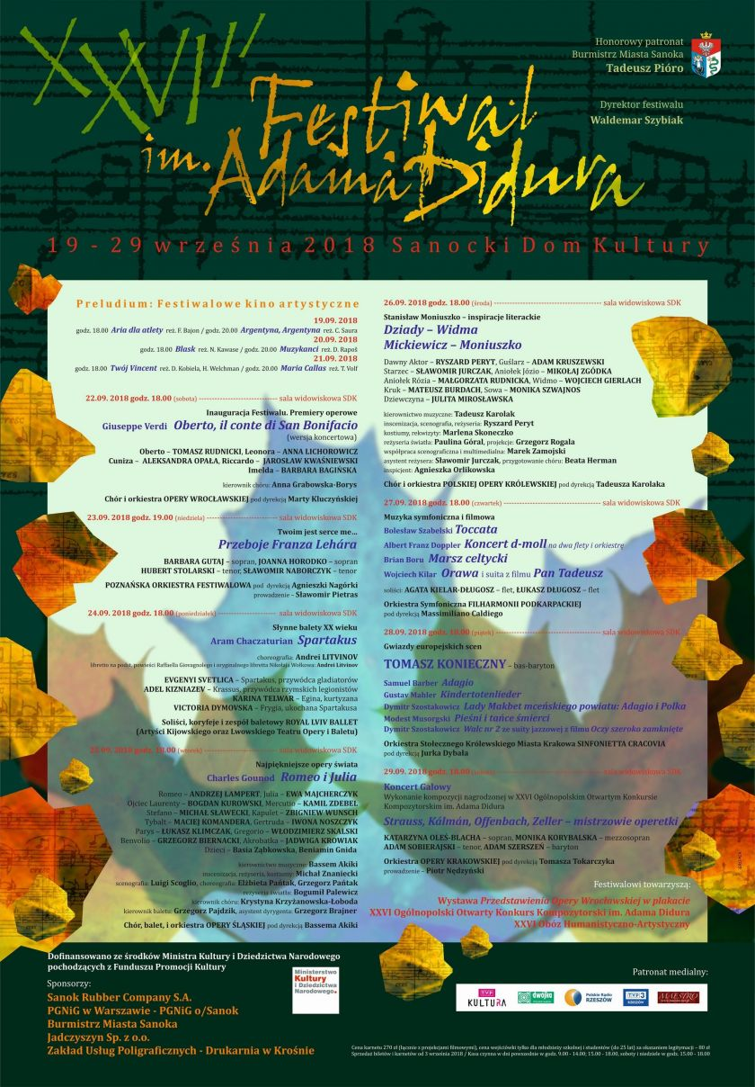 XXVIII Festiwal im. Adama Didura