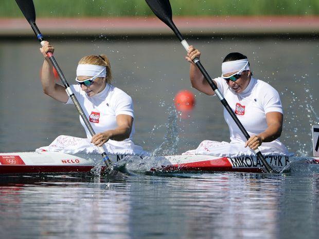 Beata Mikołajczyk i Karolina Naja – brązowe medalistki konkurencji K2 na 500 metrów (fot. Getty Images)
