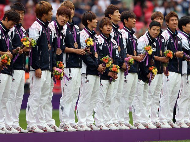 Koreańczycy nie odebrali w komplecie brązowych medali olimpijskich (fot. Getty Images)