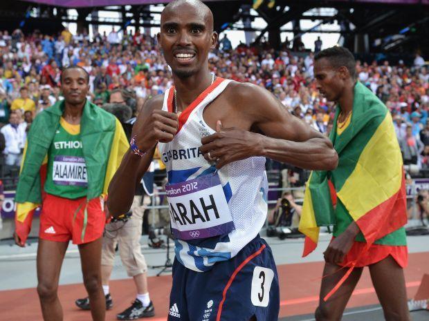 Mohamed Farah został jedną z największych gwiazd w Wielkiej Brytanii (fot. Getty Images)