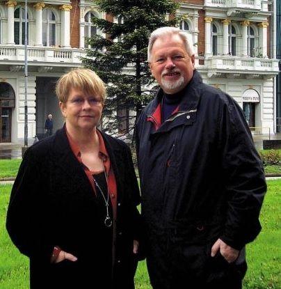 Jadwiga Wileńska i Ryszard Bonisławski fot. zbiory prywatne