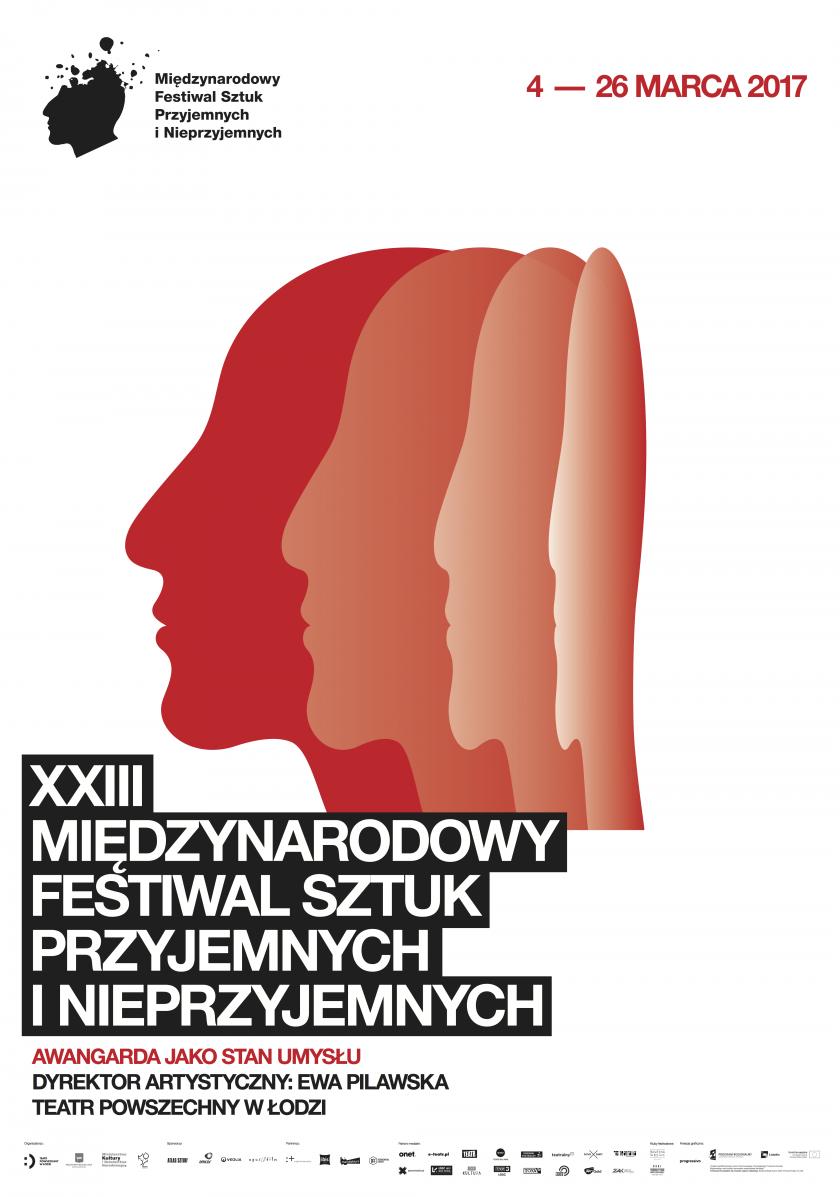 XXIII Międzynarodowy Festiwal  Sztuk Przyjemnych i Nieprzyjemnych