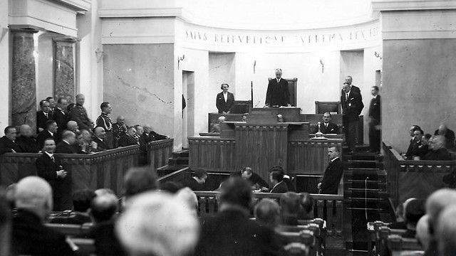 Znalezione obrazy dla zapytania senat II RP