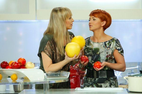 Dyskusja o wyższości polskich jabłek nad zagranicznymi cytrusami (fot. Agencja Forum)