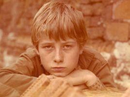 Trzynastoletni Olaf Lubaszenko w tytułowej roli w serialu