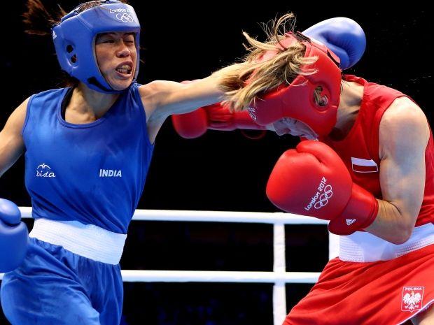 Karolina Michalczuk przegrała pierwszą walkę w turnieju i odpadła z rywalizacji (fot. Getty Images)