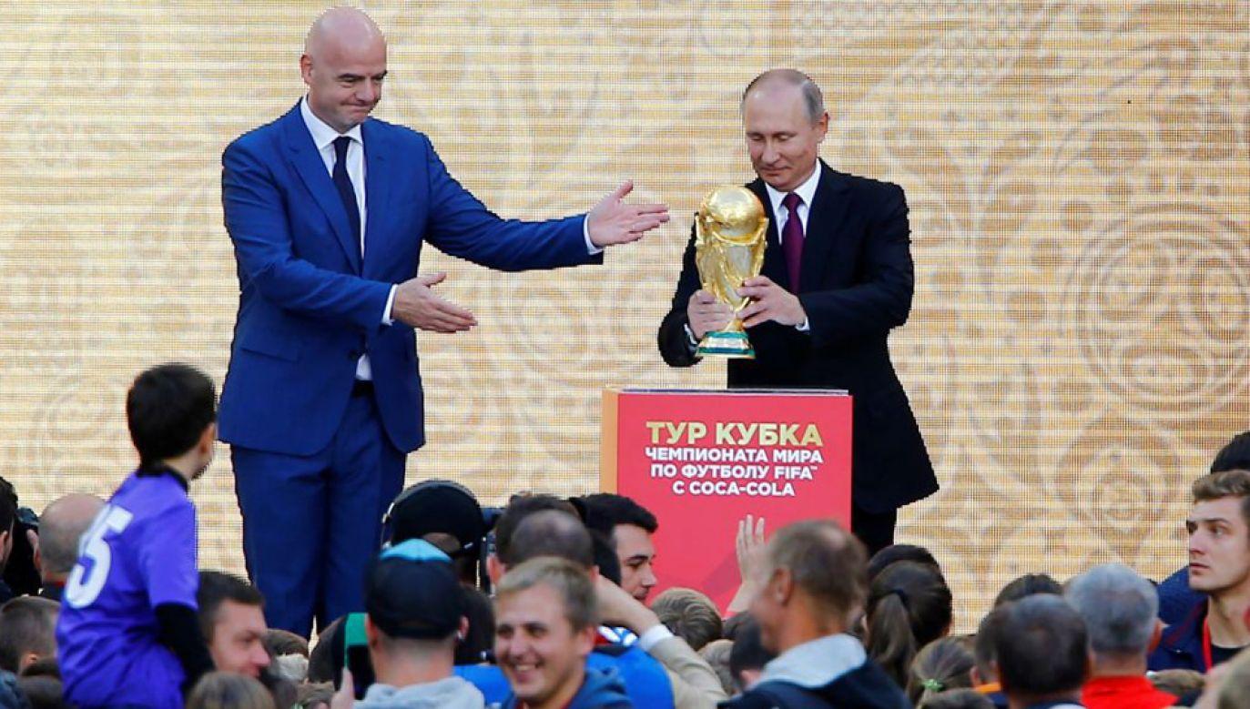 Władimir Putin będzie się starał wykorzystać mundial propagandowo (fot. Sefa Karacan/Anadolu Agency/Getty Images)