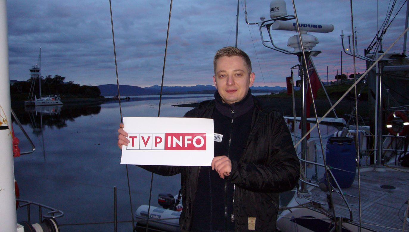 Jakub Stefaniak (fot. TVP Info)