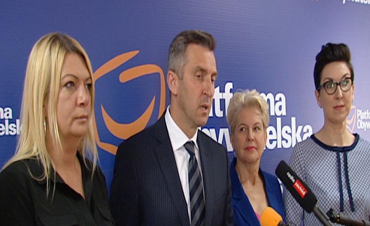 """Posłowie PO przedstawili program wsparcia """"Polska Seniora"""""""