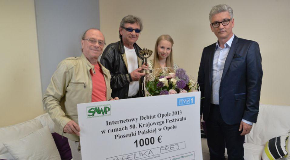 Wykonanie Andżeliki Frej najbardziej spodobało się Jury  (fot. Jan Bogacz/TVP)