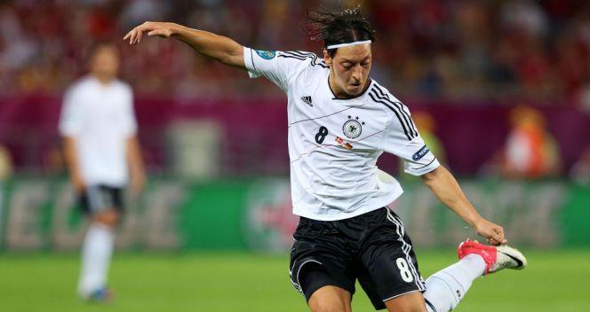 Mesut Oezil – reżyser gry brązowych medalistów Euro 2012 i król asyst (fot. Getty Images)