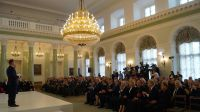 Gala związana z wręczeniem tytułów Pomników Historii. Fot. Przemysław Predygier