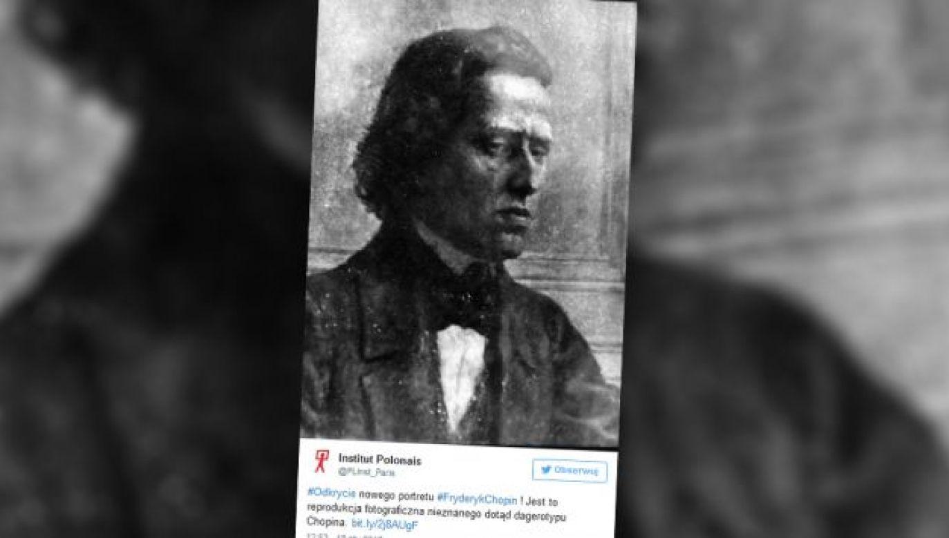 W styczniu br. poinformowano, że odnalazła się fotografia wybitnego kompozytora (fot. twitter.com/PLinst_Paris)