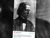 Odnaleziony wizerunek Chopina to reprodukcja obrazu