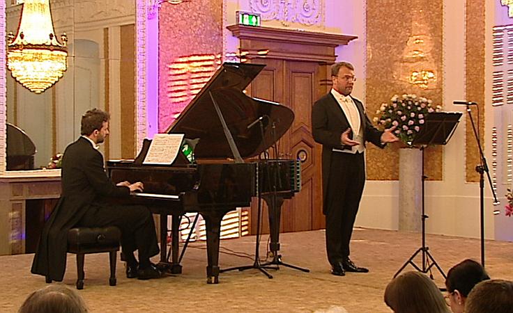 Tomasz Konieczny podczas 57. Muzycznego Festiwalu w Łańcucie