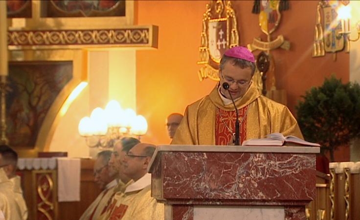 60. rocznica święceń kapłańskich biskupa Adama Dyczkowskiego