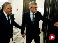 """""""To minidebata pomiędzy politykami PO i PiS"""".  Komisja Wenecka spotkała się z senatorami"""