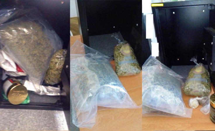 Skonfiskowane narkotyki
