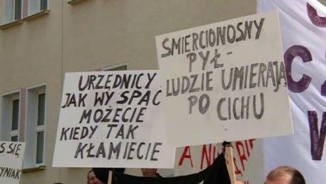 Mieszkańcy Korsz domagają się zamknięcia zakładu
