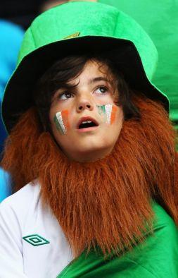 Jedna z fanek zespołu z Zielonej Wyspy (fot. Getty Images)
