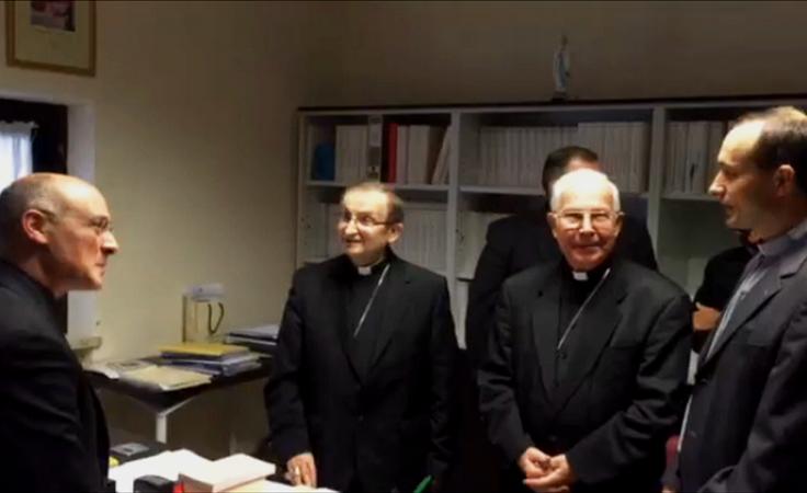 Delegacja diecezji złożyła dokumentację w Watykanie
