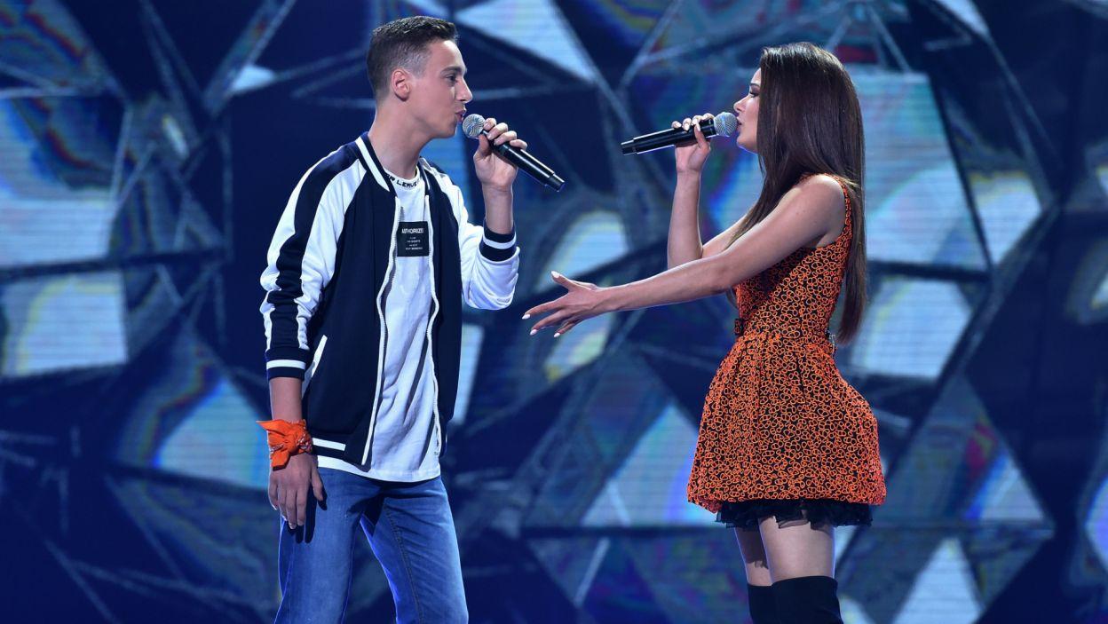 W duecie z Natalią Szroeder wystąpił Dominik Tudryn (fot. I. Sobieszczuk)