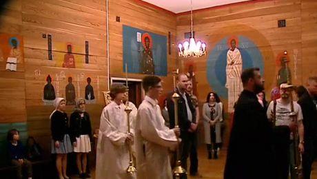 Pierwsza liturgia dla społeczności greckiej w ich rodzimym języku