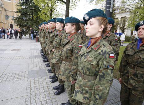 Wojewódzkie obchody Święta Narodowego 3 Maja w Łodzi.