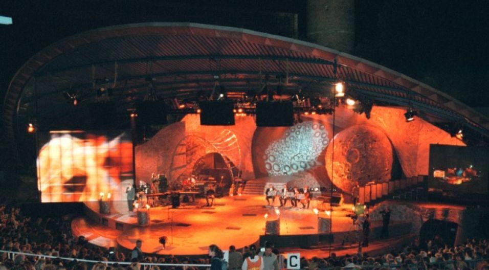 Amfiteatr, jak zawsze, wypełniony do ostatniego miejsca (fot. TVP)