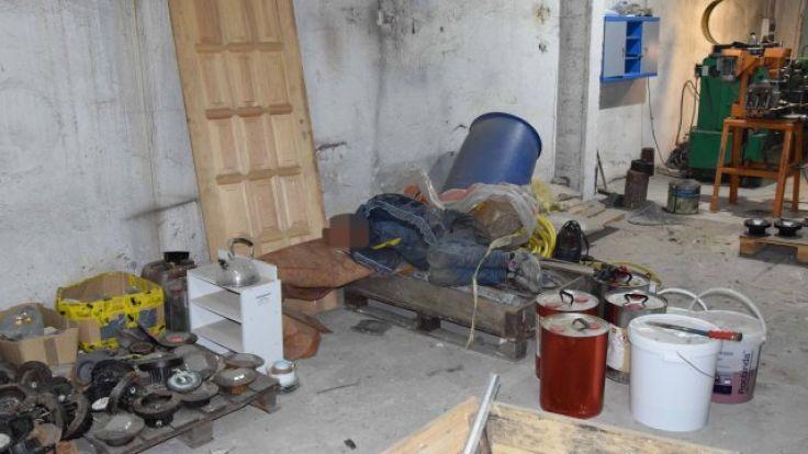 Włamał się do jednej z firm, wypił alkohol i… zasnął (fot. KWP Olsztyn)